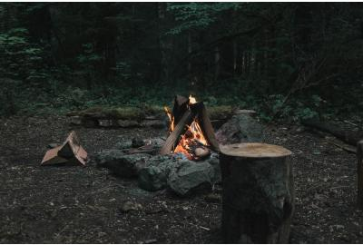How to create a fire in the great outdoors