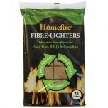 Bag of Homefire Twizlers (Wood Wool) Natural Firelighters