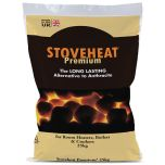 Stoveheat Premium Smokeless Fuel - The Long Lasting Alternative to Anthracite