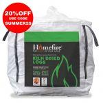 Homefire Kiln Dried Logs 1m3 Bulk Bag