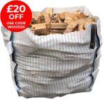 Real Wood Logs - 1m3 Bulk Bag