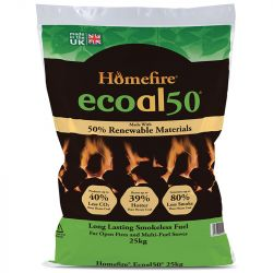 Ecoal50 Smokeless Coal - 25kg
