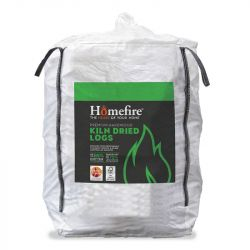 Homefire Kiln Dried Hardwood Logs - Bulk Bag (1.6m3)