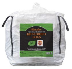 Homefire Kiln Dried Hardwood Logs - Bulk Bag (1m3)