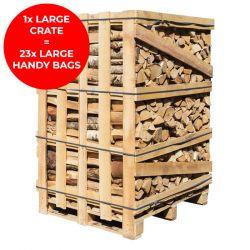 Homefire Kiln Dried Firewood - Large Crate