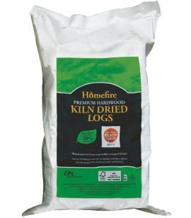 Homefire Kiln Dried Hardwood Logs - Large Bag (0.08m3)