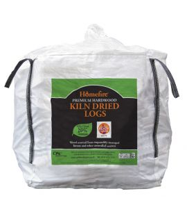 Homefire Kiln Dried Logs 1m3 Bulk Bag