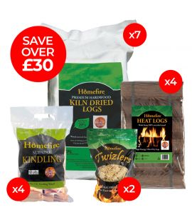 Log Burner Bundle
