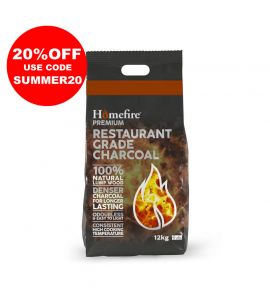 Restaurant Charcoal 12kg bag - Premium Grade Lumpwood