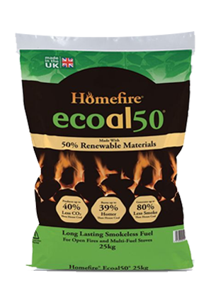 Homefire Ecoal50 Smokeless Coal