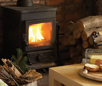 How do I light a log fire?